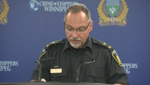 Police brief media on arrests made in connection to child sexual abuse images, assault